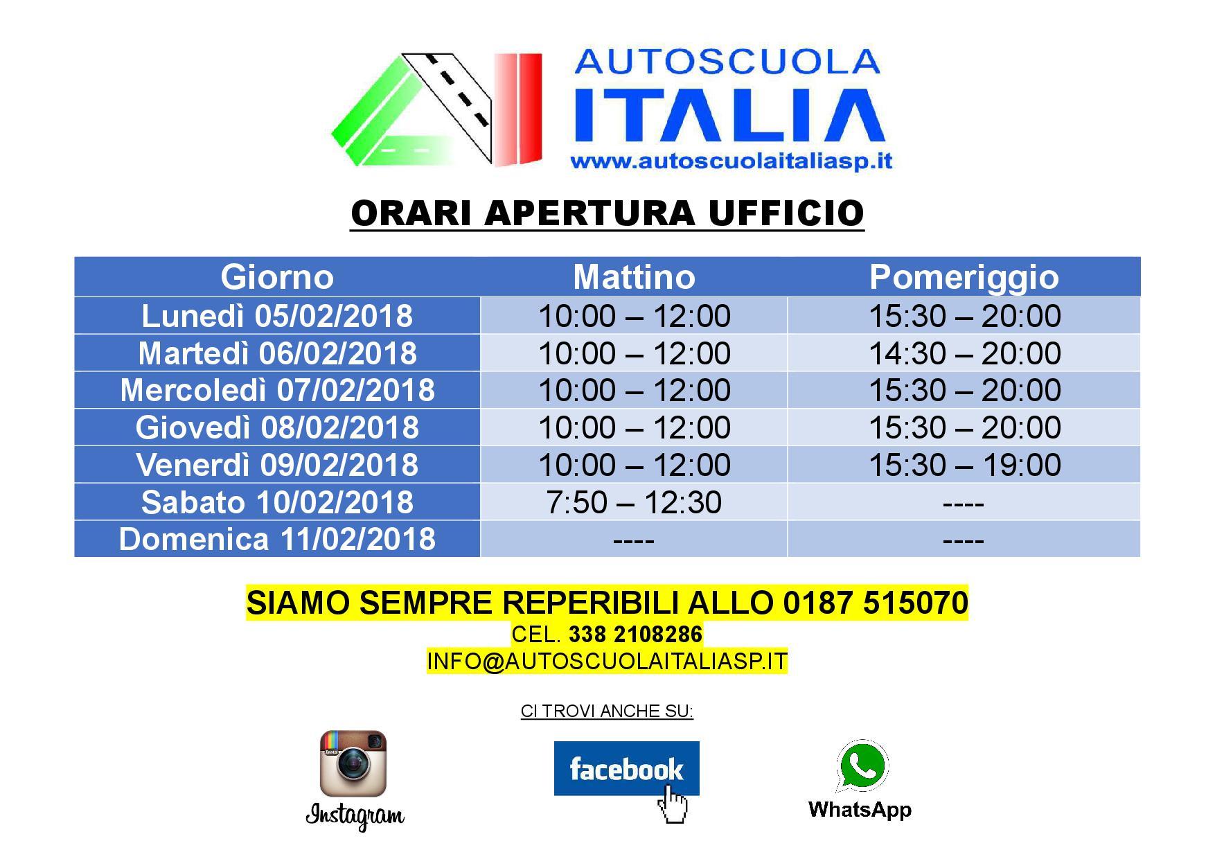 Stunning Orari Terrazze La Spezia Gallery - Idee Arredamento Casa ...